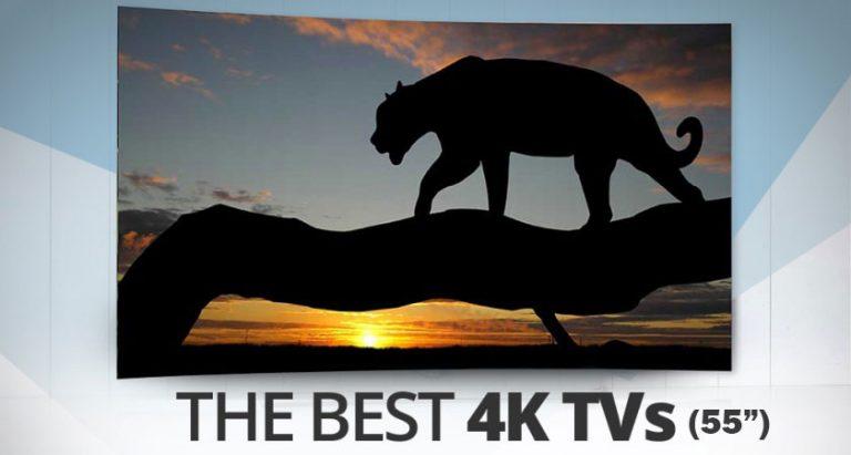 best 55 inch 4K tvs