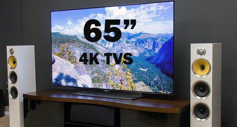 Best 65 Inch 4K Tvs