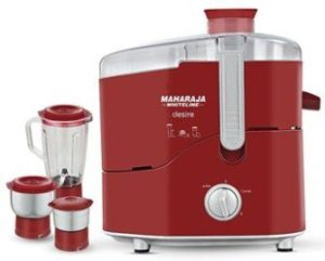 Maharaja Whiteline Desire Red Treasure Juicer Mixer Grinder