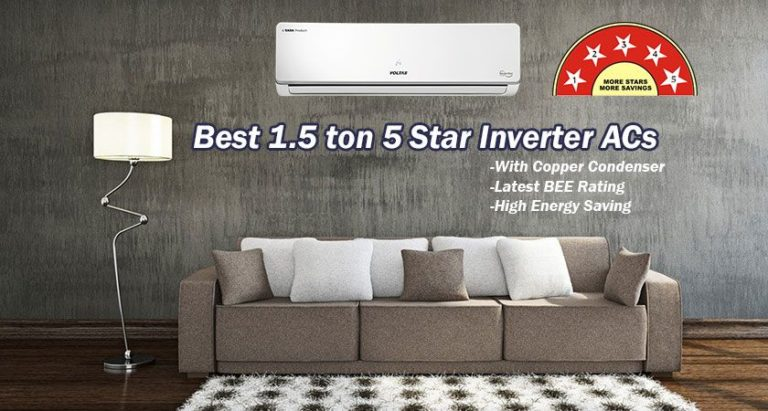 1.5 Ton 5 Star Inverter ACs