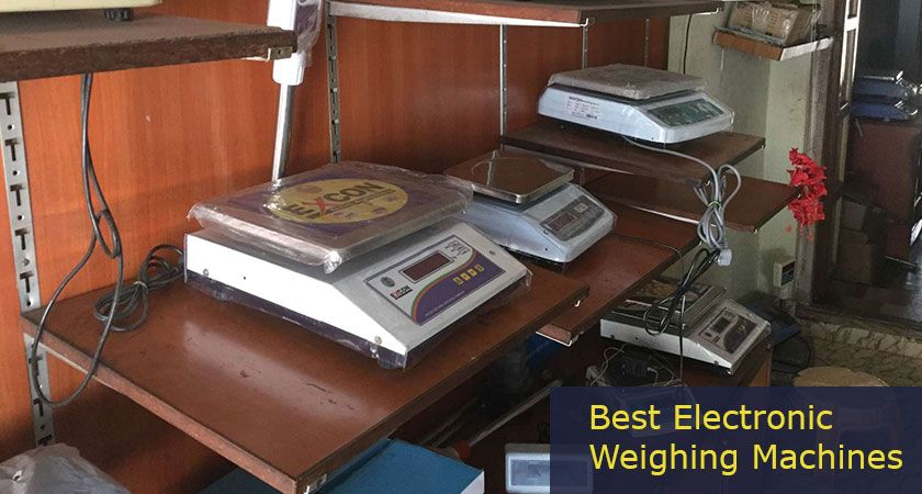 5 Best Electronic Weighing Machines for Shops 2021 – Reviews