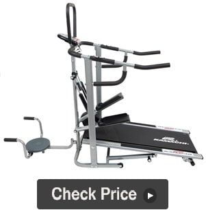 Kamachi 4 In 1 Manual Treadmill