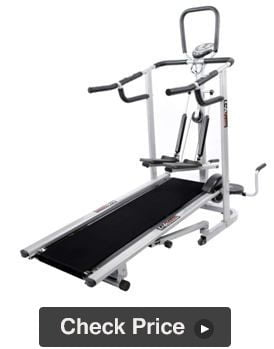 Lifeline 4 in 1 Manual Treadmill