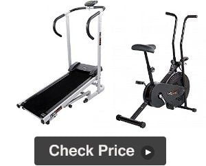 Lifeline Fitness Combo Treadmill Exercise Bike