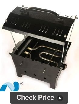 Welberg Electric and Charcoal Barbecue Grill