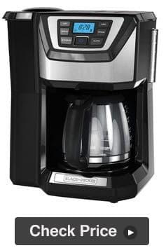 Black & Decker CM5000B Grind and Brew Coffee Maker