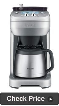 Breville BDC650BSS Grind and Brew Coffee Maker