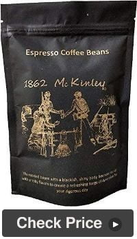1862 McKinley Whole Espresso Beans