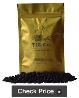 TGL Co. Monsoon Malabar AA Arabica Roasted Coffee Beans