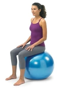 Home Gym Equipment Exercise Ball