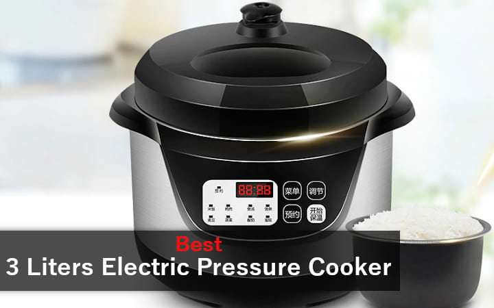 3 Liters Electric Pressure Cooker
