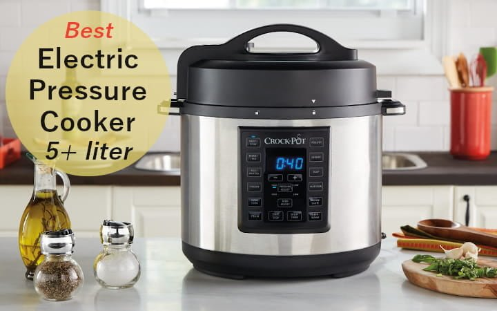 5 Liters Electric Pressure Cooker