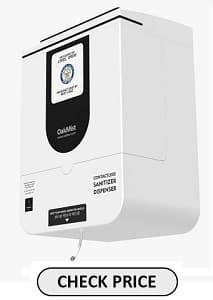 Oakmist Sanitizer Dispenser