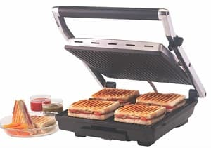Borosil super Jumbo Sandwich Maker
