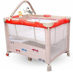 R for Rabbit Baby Cot