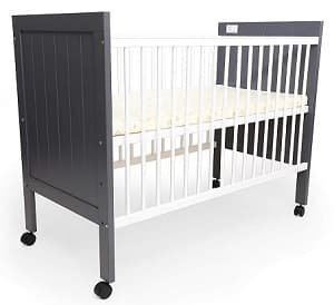 R for Rabbit Wooden Baby Cot