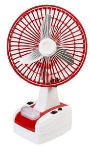 Globex Rechargeable Table Fan