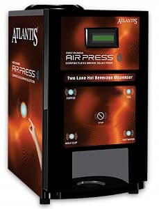 Atlantis Airpress Touchless Tea Coffee Vending Machine
