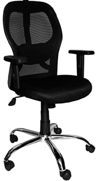 Cellbell Chromium Chair for Office