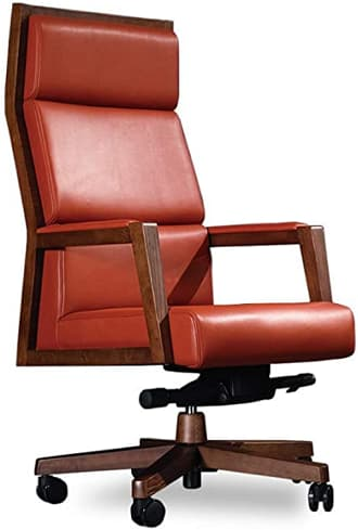 INNOWIN Pure Leather Executive High Back Premium Office Chair