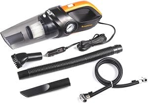 Bergmann Cyclonic Car Vacuum Cleaner with Tyre Inflator