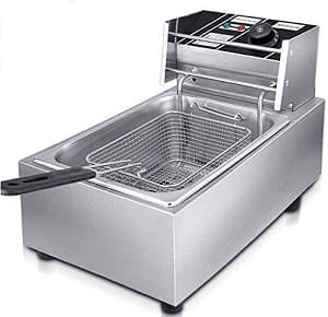 Froth And Flavor Electric Deep Fryer