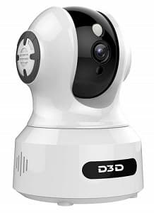 D3D CCTV Camera